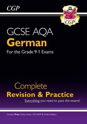 New GCSE German AQA Complete Revision & Practice (with CD & (BOK)