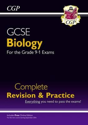 New Grade 9-1 GCSE Biology Complete Revision & Practice with (BOK)
