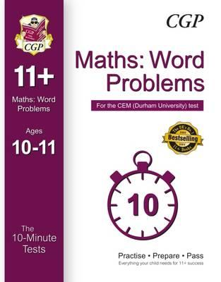 10-Minute Tests for 11+ Maths: Word Problems (Ages 10-11) - (BOK)