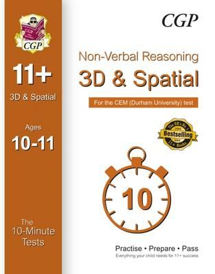 10-Minute Tests for 11+ Non-Verbal Reasoning: 3D and Spatial (BOK)