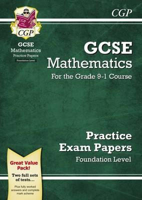 New GCSE Maths Practice Papers: Foundation - For the Grade 9 (BOK)