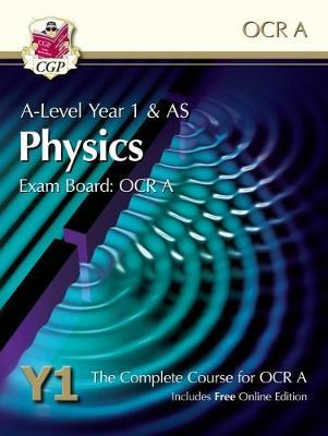 New A-Level Physics for OCR A: Year 1 & AS Student Book with (BOK)