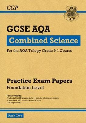 New Grade 9-1 GCSE Combined Science AQA Practice Papers: Fou (BOK)