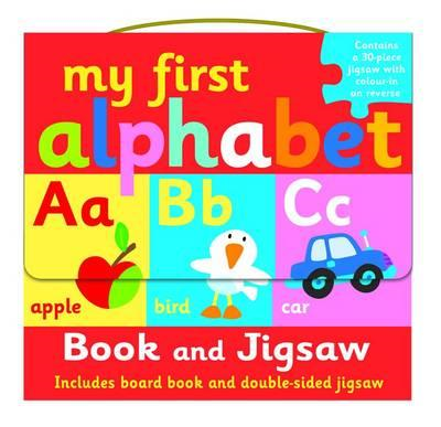 My First Alphabet  Book and Jigsaw Puzzle Set (BOK)