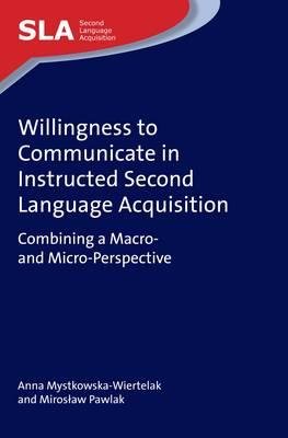 Willingness to Communicate in Instructed Second Language Acq (BOK)