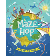 Maze Hop: Around The World (BOK)