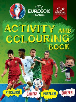 UEFA EURO 2016 Activity and Colouring Book - Official licens (BOK)