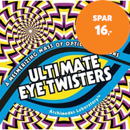 Produktbilde for Ultimate Eye Twisters - A Mesmerizing Mass of Optical Illusions (BOK)