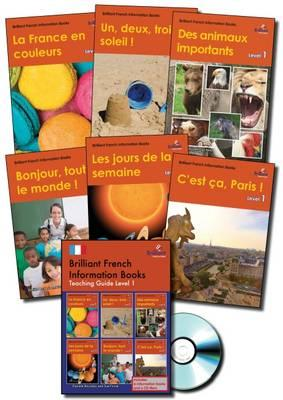 Brilliant French Information Books pack - Level 1 (BOK)