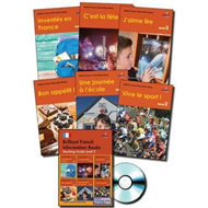 Brilliant French Information Books pack - Level 2 (BOK)