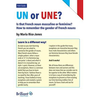 Un or Une? Is this French word masculine or feminine? (BOK)
