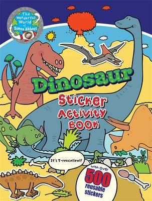 Dinosaur Sticker Activity Book (BOK)
