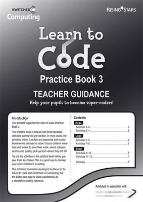 Learn to Code Teacher's Notes 3 (BOK)