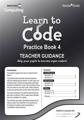 Learn to Code Teacher's Notes 4 (BOK)