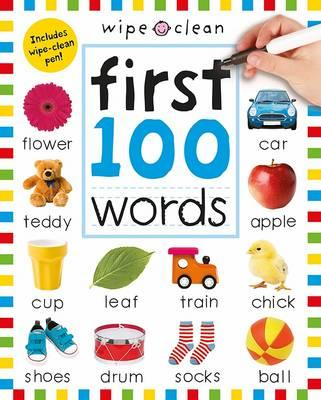 Wipe Clean First 100 Words (BOK)