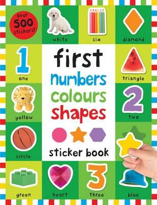 First 100 Stickers: Numbers Colours Shapes (BOK)