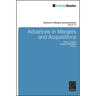Advances in Mergers and Acquisitions (BOK)