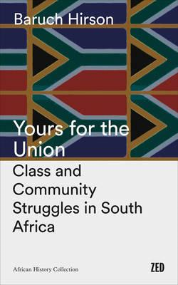 Yours for the Union (BOK)