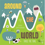 Trace the Trail: Around the World (BOK)