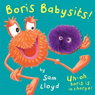Produktbilde for Boris Babysits - Cased Board Book with Puppet (BOK)