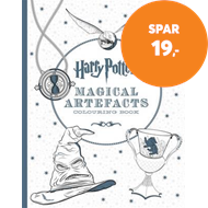 Produktbilde for Harry Potter Magical Artefacts Colouring Book 4 (BOK)