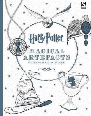 Harry Potter Magical Artefacts Colouring Book 4 (BOK)