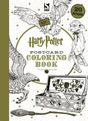 Harry Potter Postcard Colouring Book (BOK)