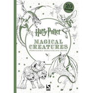 Harry Potter Magical Creatures Postcard Book (BOK)