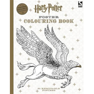 Produktbilde for Harry Potter Poster Colouring Book (BOK)