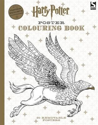 Harry Potter Poster Colouring Book (BOK)