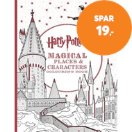 Produktbilde for Harry Potter Magical Places and Characters Colouring Book (BOK)