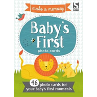 Make a Memory Baby's First Photo Cards (BOK)
