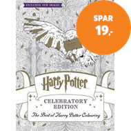 Produktbilde for Harry Potter Colouring Book Celebratory Edition - The Best of Harry Potter colouring (BOK)