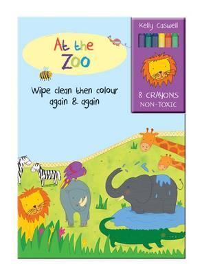 Colour Me Again and Again Book - At the Zoo (BOK)