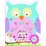 Hootiful Shaped Colouring and Sticker Book (BOK)