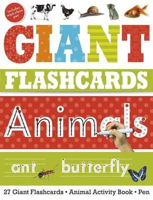 Giant Flashcards Animals (BOK)