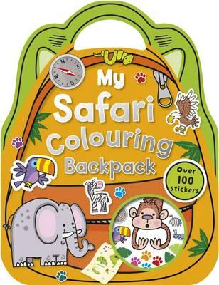 My Safari Colouring Backpack (BOK)
