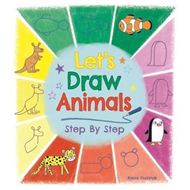 Let's Draw Animals Step by Step (BOK)