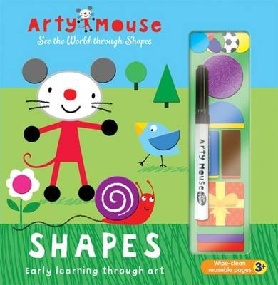 Arty Mouse - Shapes (BOK)