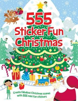 555 Sticker Fun Christmas (BOK)