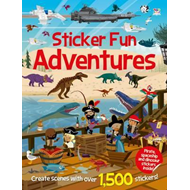 Sticker Fun Adventures (BOK)