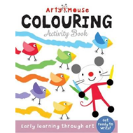 Arty Mouse Colouring (BOK)