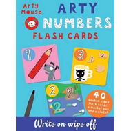 Produktbilde for Arty Numbers Flash Cards (BOK)