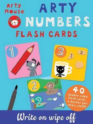 Arty Numbers Flash Cards (BOK)