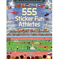555 Sticker Fun Athletes (BOK)