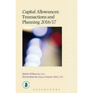 Capital Allowances Transactions and Planning 2016/17 (BOK)