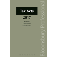Taxes Consolidation Act 1997 as Amended: 2017 (BOK)