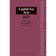 Capital Tax Acts 2017 (BOK)