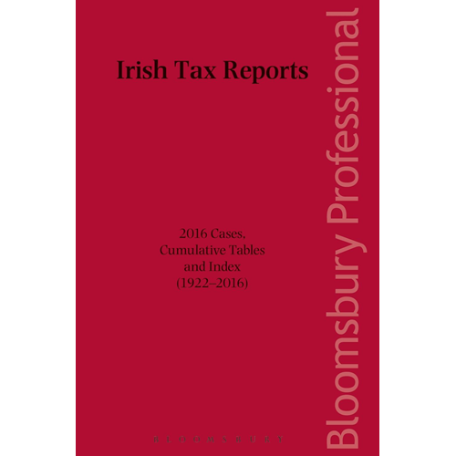 Irish Tax Reports 2016 (BOK)