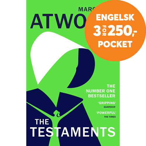 The Testaments - The Booker prize-winning sequel to The Handmaid's Tale (BOK)